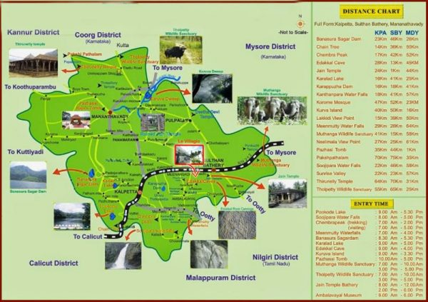 Wayanad-Map