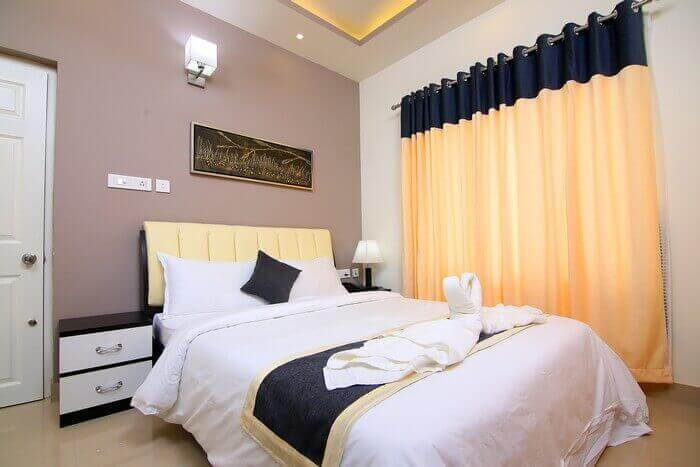 Bedroom In Resorts Of Wayanad